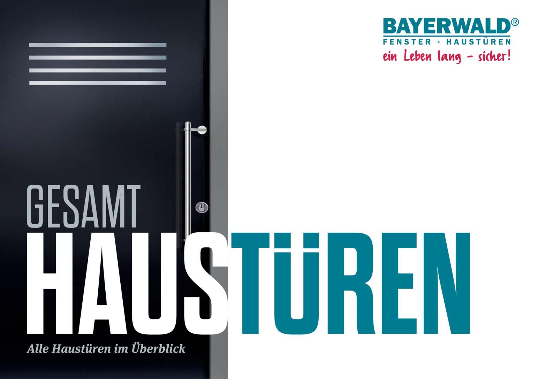 Bayerwald Haustüren blätterkatalog haustüren 2016 bayerwald partnerportal